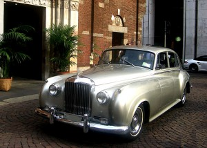 Bentley S1 color argento