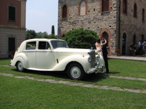 Bentley MK6 per matrimoni Milano