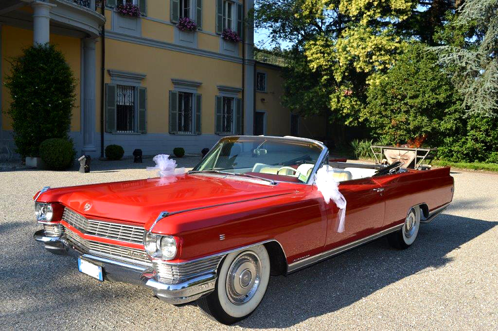 Bellissima Cadillac Eldorado per matrimoni e cerimonie in Milano e provincia