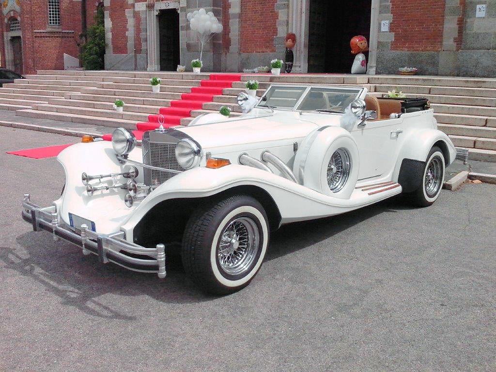 noleggio Excalibur matrimonio Milano