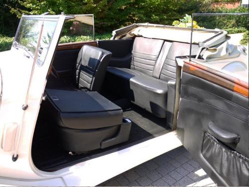 Armstrong cabrio auto d'epoca per eventi e servizi fotografici Foto interni