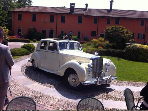 Bentley MK6 matrimonio Milano
