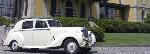 Bentley MK6 per matrimonio Milano