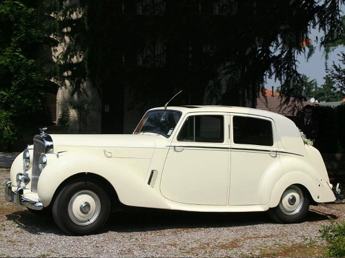 AffittoBentley MK6 matrimonio Milano