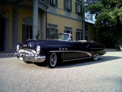 Buick blu matrimonio Milano