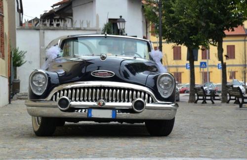 affitto Buick blu matrimonio Milano