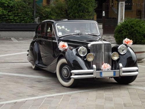 jaguar mk5 matrimonio Milano