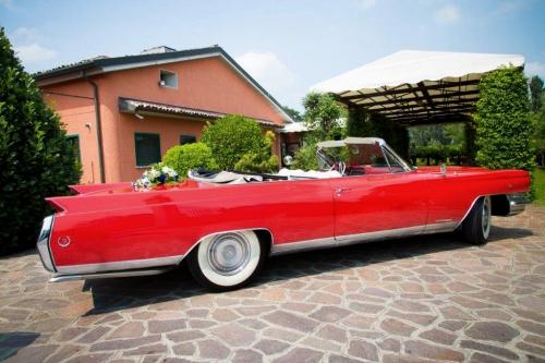 Noleggio Cadillac Eldorado per matrimonio Milano