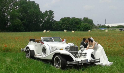 Excalibur noleggio matrimonio Milano