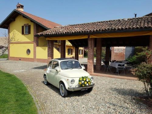 Fiat 500 vecchio modello matrimonio Milano