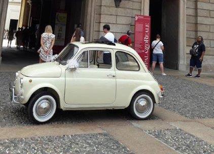 Fiat 500 vecchio modello