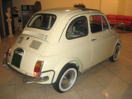 Fiat 500 matrimonio Milano