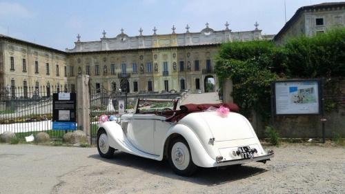 Jaguar ss Noleggio auto epoca matrimonio Milano