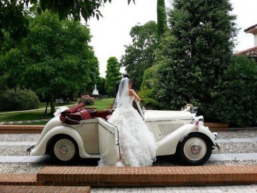affitto Jaguar matrimonio Milano