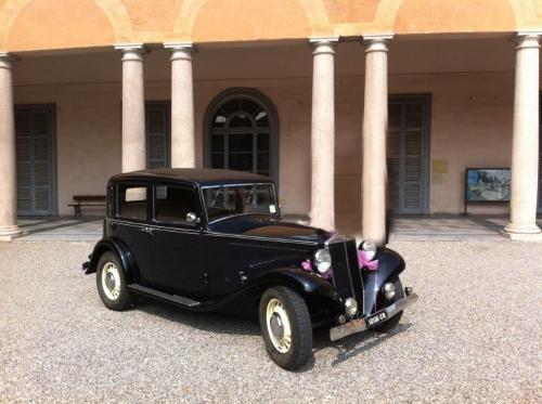 noleggio Lancia Augusta Matrimonio Milano